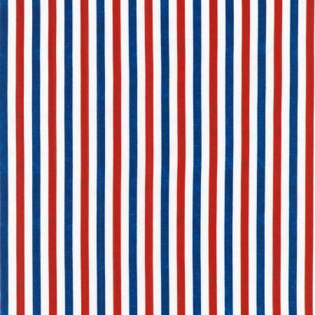 Americana Patriots Stripes Red White & Blue