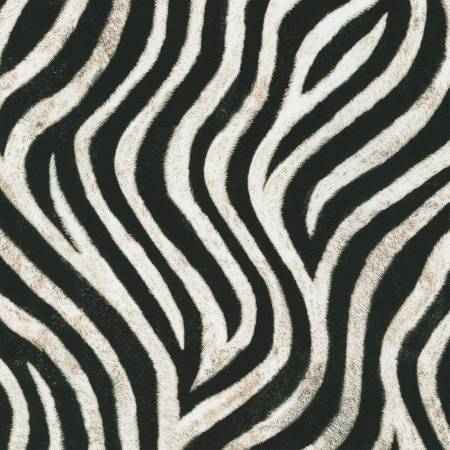 Wild Zebra Skin Digital Print
