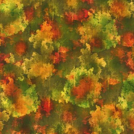 Nature's Pace - Trees Autumn