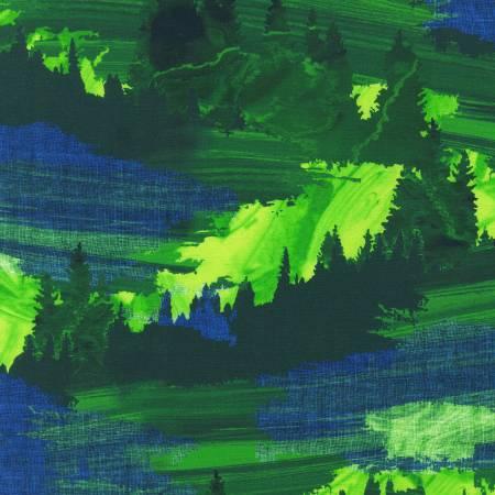 Nature's Pace - Landscape Green