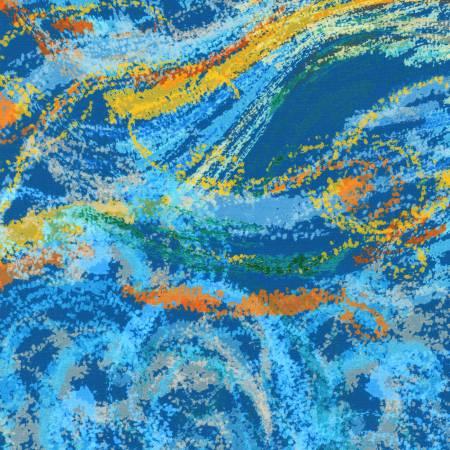 Nature's Pace - Texture Blue