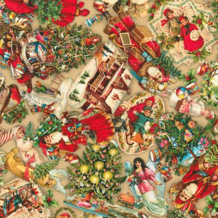 Library of Rarities - Christmas Vintage Ornaments