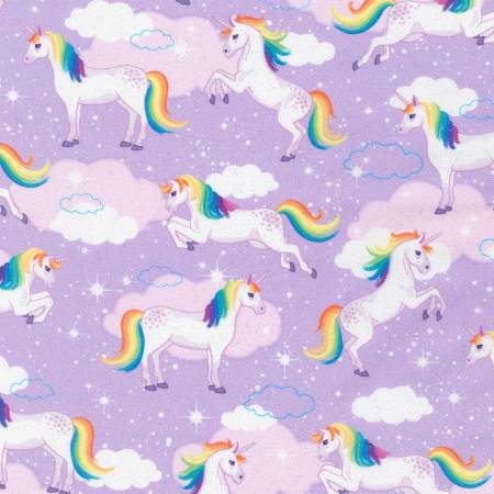 Enchanted Unicorns Lavender