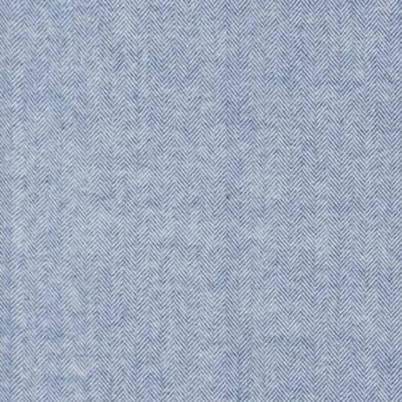 Denim Herringbone Flannel