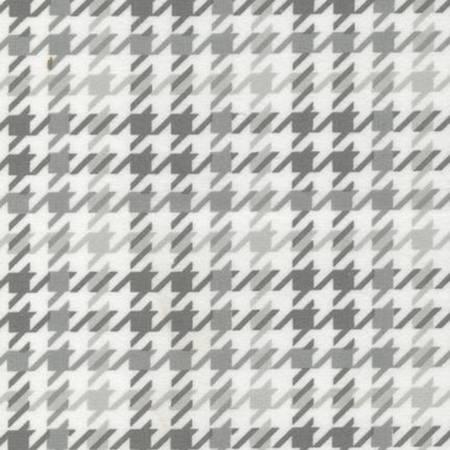 Cozy Cotton Flannel 147733-12 Grey Houndstooth