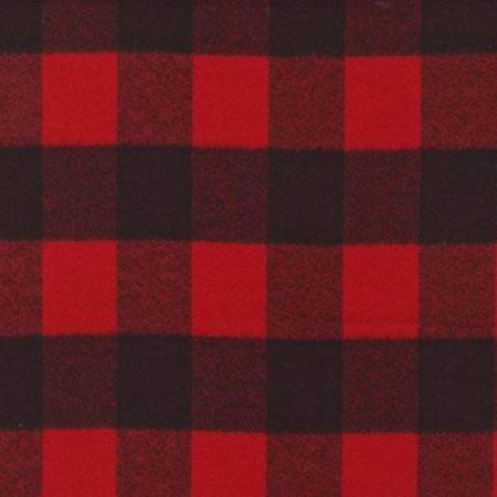 Red Plaid Mammoth Flannel SRKF148763