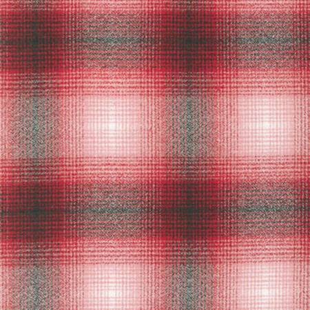 Red Plaid Mammoth Flannel