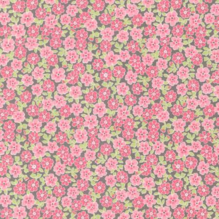 Pink Floral Flannel