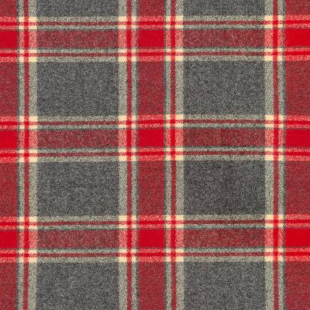 Red Mammoth Flannel - SRKF - 16426 - 3 Red