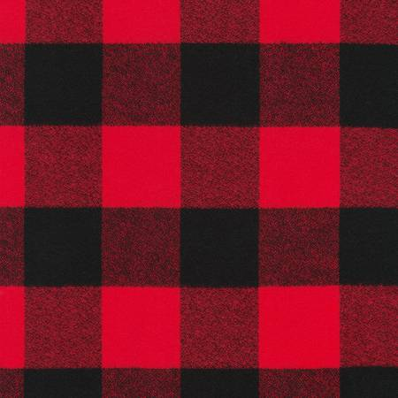 Red Mammoth Flannel Lg Check