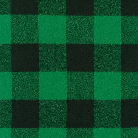 Green Mammoth Flannel Large