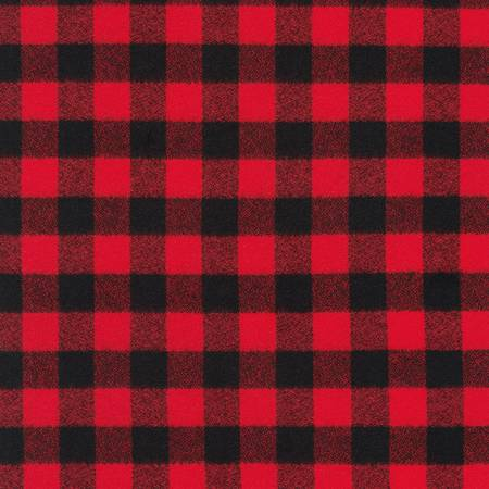 Red Mammoth Flannel