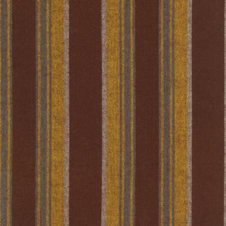 Taos Reversible Cotton Flannel Stripes - Yarrow