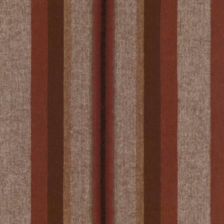 Taos Cotton Flannel Stripes - Mocha