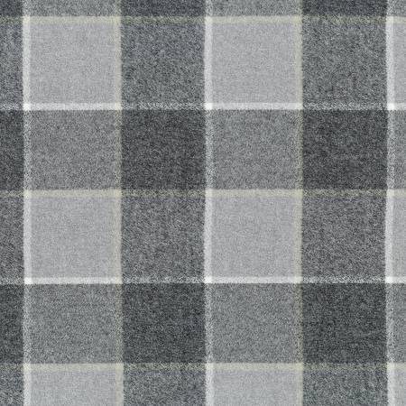 Platinum Mammoth Flannel Plaid