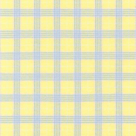 Plaid Lemon Mammoth Flannel