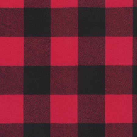 Red Mammoth Flannel 58 Wide Back