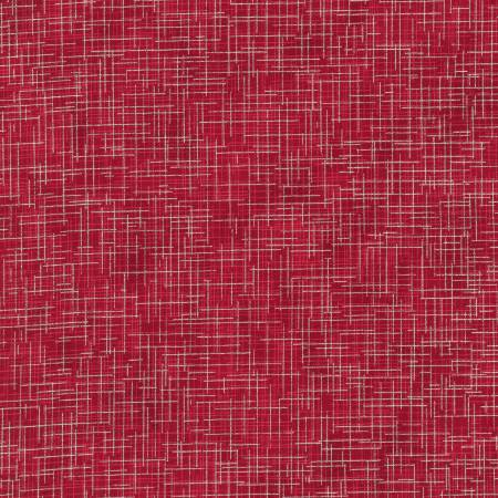 Quilter's Linen w/Metallic Red SRKM1447694