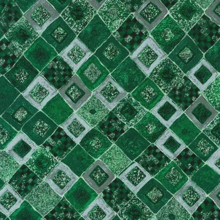 Emerald Gustav Klimt w/Metallic