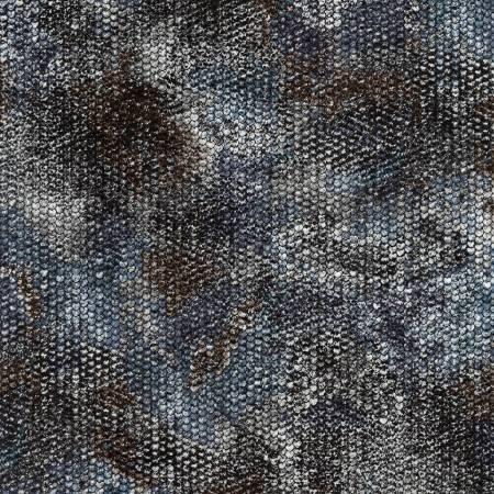 Atlantia - Charcoal Scale Texture w/Metallic