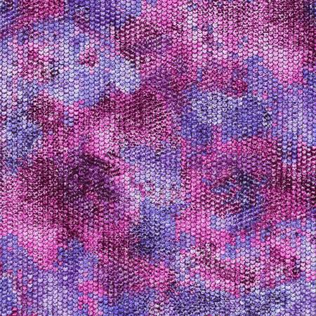Atlantia - Violet Scale Texture w/Metallic