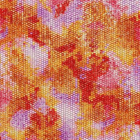 Atlantia - Poppy Scale Texture w/Metallic
