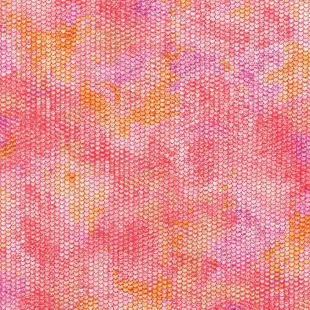 Atlantia - Honeysuckle Scale Texture w/Metallic