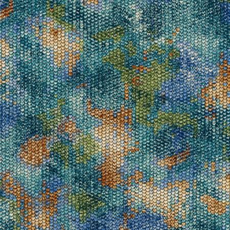 Atlantia - Seaglass Scale Texture with Metallic