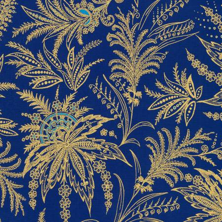 Blue Treasures of Alexandria w/Metallic
