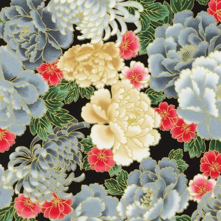 Imperial Collection Metallic Chrysanthemum