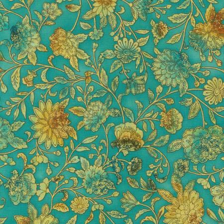 Fiorella Jade Floral w/Metallic SRKM1954951