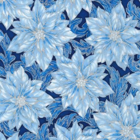 Holiday Flourish 14 19916-4 Blue Metallic
