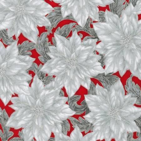 Flower Scarlet Christmas w/Metallic