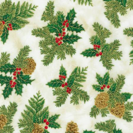 Holly Holiday Christmas w/Metallic