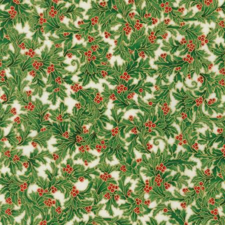Holiday Flourish 14 Holly Holiday w/Metallic