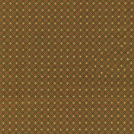 Holiday Flourish 14 - Geometric Black Christmas w/Metallic