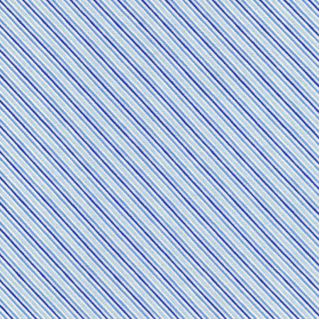 Robert Kaufman Holiday Charms SRKM-19954-4 Stripe Blue Christmas w/Metallic