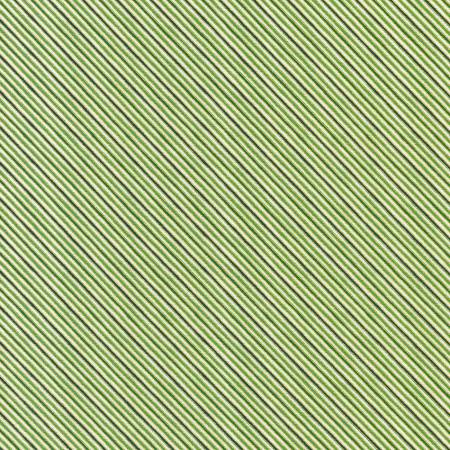 Stripe Green Christmas w/Metallic