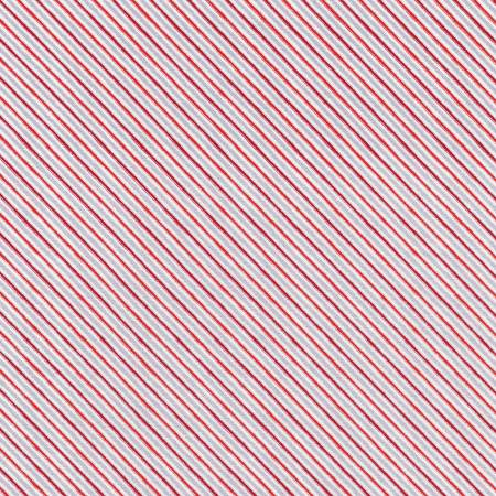 Holiday Charms - Stripe Scarlet Christmas w/Metallic