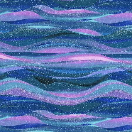 In The Moonlight Stripes Lilac w/Metallic