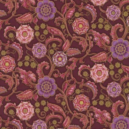 Persis - Floral Claret