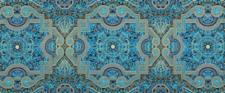 Persis - Medallion Teal Blue