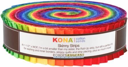 Classic Palette 41 pcs 1.5in x 42in Kona Solids SS-105-41