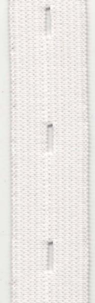 Stretchrite Buttonhole Elastic 3/4in  White