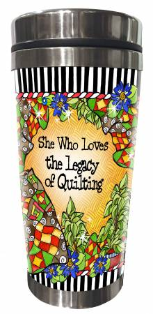 Quilt Legacy Stainless Steel Tumbler