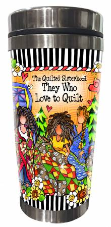 Quilt Sisterhood Stainless Steel Tumbler