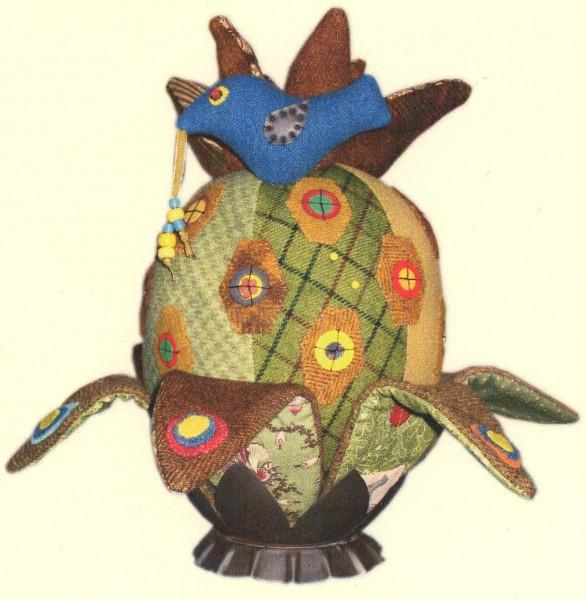 PT W Sue Spargo Good Wives Pineapple Pin Keeper