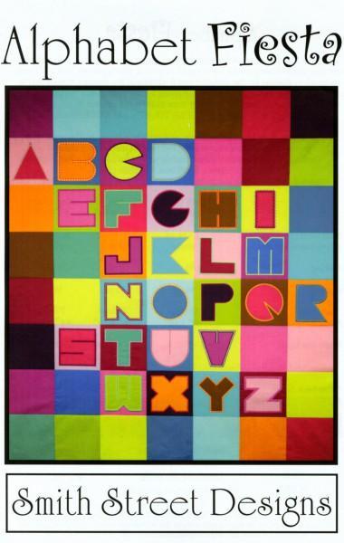 Pattern Machine Embroidery Alphabet Fiesta CD
