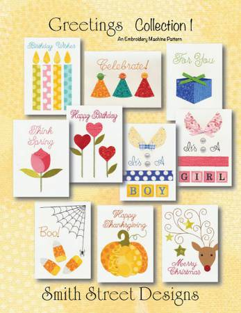 Greetings Collection 1 Pattern by Smith Street Designs+
