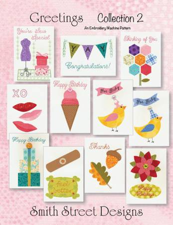 Greetings Collection 2 Pattern by Smith Street Designs+